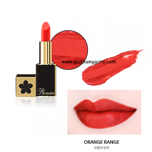 Plumeria Color Infusion Matte Lip #5 Orange Range