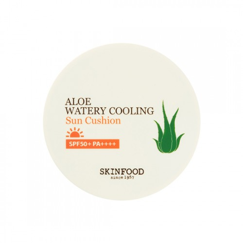 Skinfood Aloe Watery Cooling Sun Cushion SPF50+PA++++