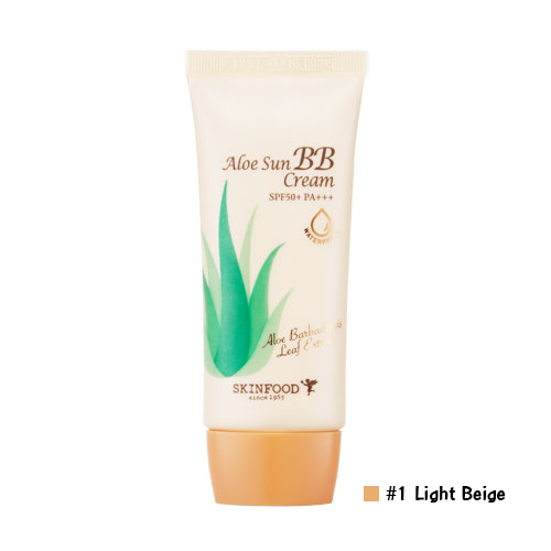 Skinfood Aloe Sun BB Cream SPF50+ PA+++ #1 Light Beige