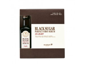 Skinfood Black Sugar Perfect First Serum 2X - Light