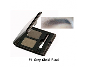 Skinfood Choco Eyebrow Powder Cake #1 Grey Khaki Black
