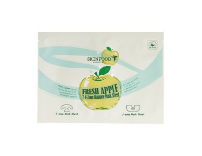 Skinfood Fresh Apple T·U Zone Balance Mask Sheet