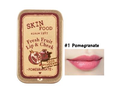 Skinfood Fresh Fruit Lip & Cheek #1 Pomegranate