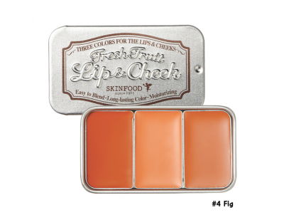 Skinfood Fresh Fruit Lip & Cheek Trio #4 Fig