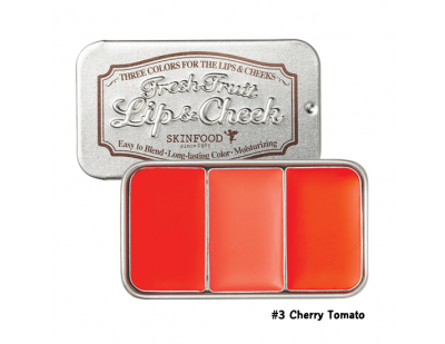 Skinfood Fresh Fruit Lip & Cheek Trio #3 Cherry Tomato