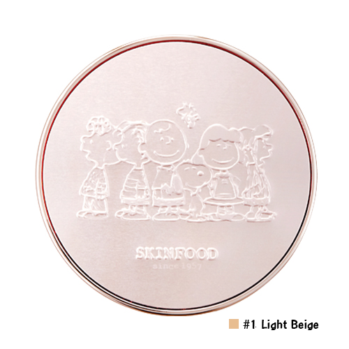 Skinfood Royal Honey Cover Bounce Cushion SPF50+ PA+++ [ Snoopy Limited Edition ] #1 Light Beige