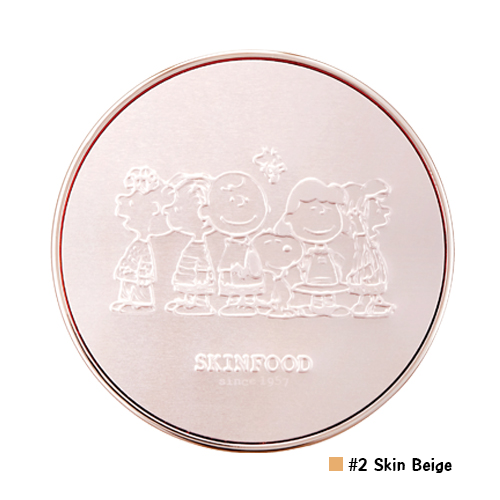 Skinfood Royal Honey Cover Bounce Cushion SPF50+ PA+++ [ Snoopy Limited Edition ] #2 Natural Beige