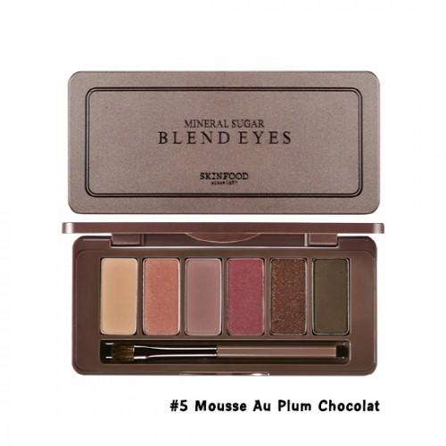 Skinfood Mineral Sugar Blend Eyes #5 Mousse Au Plum Chocolat