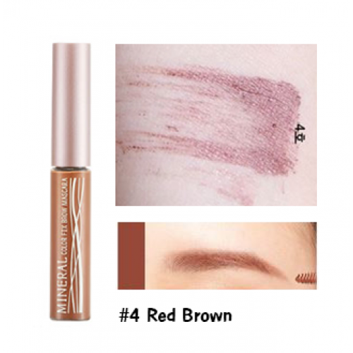 Skinfood Mineral Color Fix Brow Mascara #4 Red Brown