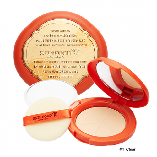 Skinfood Red Orange Sun Pact SPF50+ PA+++ #1 Clear
