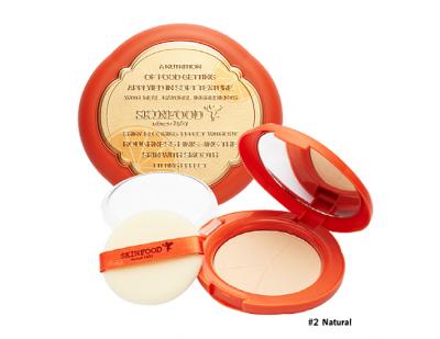 Skinfood Red Orange Sun Pact SPF50+ PA+++ #2 Natural
