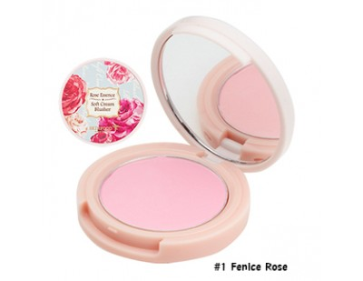 Skinfood Rose Essence Soft Cream Blusher #1 Fenice Rose