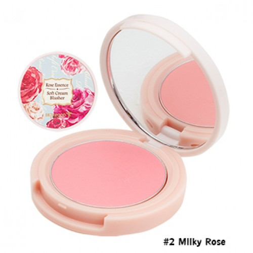 Skinfood Rose Essence Soft Cream Blusher #2 Milky Rose