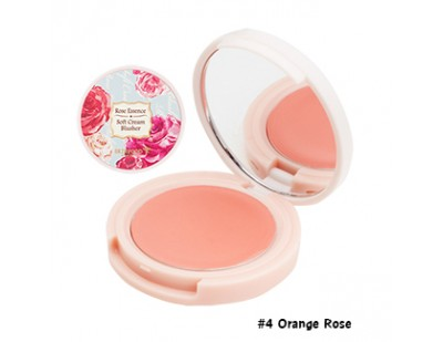Skinfood Rose Essence Soft Cream Blusher #4 Orange Rose