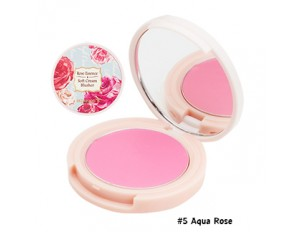 Skinfood Rose Essence Soft Cream Blusher #5 Aqua Rose