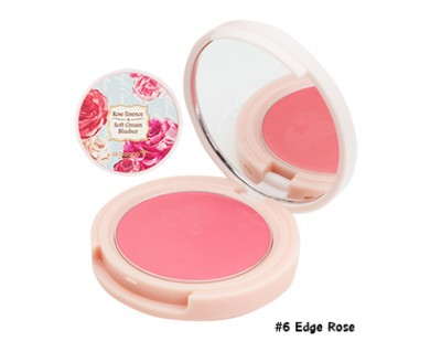 Skinfood Rose Essence Soft Cream Blusher #6 Edge Rose