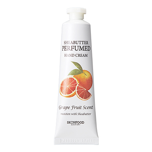 Skinfood Shea Butter Perfumed Hand Cream #Grape Fruit Scent