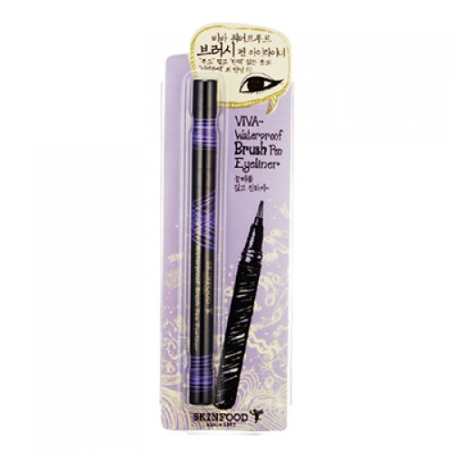 Skinfood Viva-Waterproof Brush Pen Eyeliner