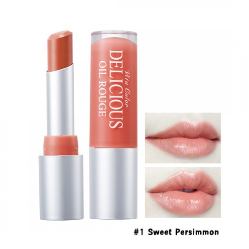 Skinfood Vita Color Delicious Oil Rouge #1 Sweet Persimmon