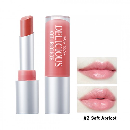 Skinfood Vita Color Delicious Oil Rouge #2 Soft Apricot