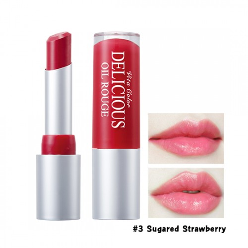 Skinfood Vita Color Delicious Oil Rouge #3 Sugared Strawberry