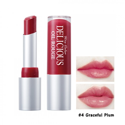 Skinfood Vita Color Delicious Oil Rouge #4 Graceful Plum