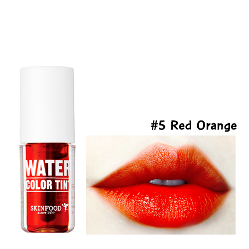 Skinfood Water Color Tint #5 Red Orange