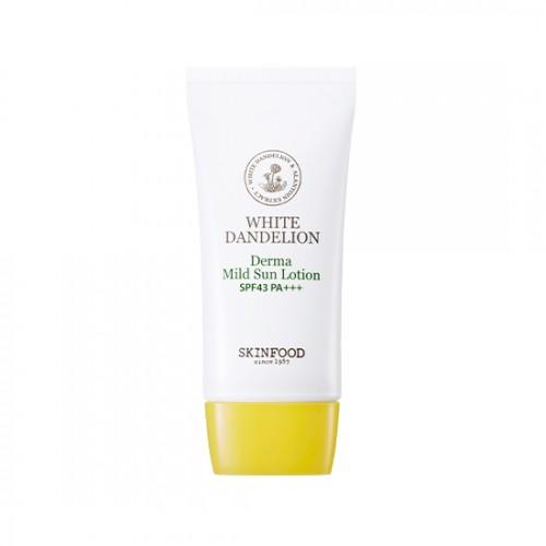 Skinfood White Dandelion Derma Mild Sun Lotion SPF43 PA+++
