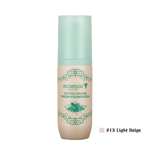 Skinfood White Grape Fresh Foundation #13 Light Beige