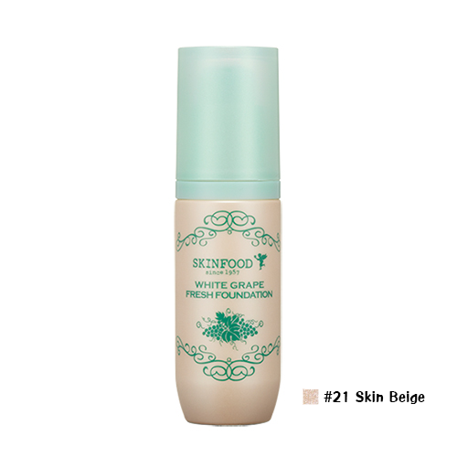 Skinfood White Grape Fresh Foundation #21 Skin Beige