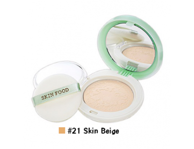 Skinfood White Grape Fresh Light Pact #21 Skin Beige
