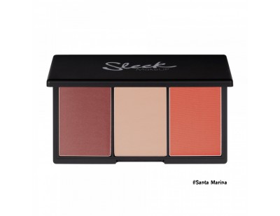 Sleek MakeUp Blush By 3 Palette #1 Santa Marina