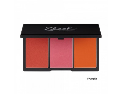Sleek MakeUp Blush By 3 Palette #2 Pumpkin