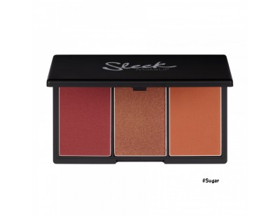 Sleek MakeUp Blush By 3 Palette #4 Sugar