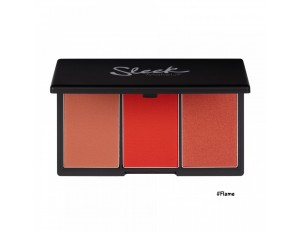 Sleek MakeUp Blush By 3 Palette #6 Flame