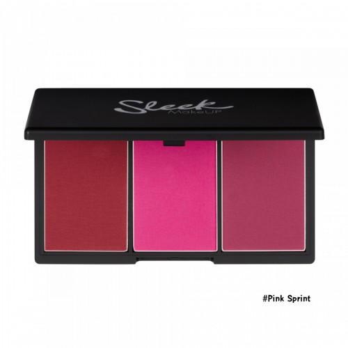 Sleek MakeUp Blush By 3 Palette #8 Pink Sprint