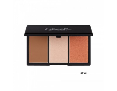 Sleek MakeUp Face Form Contouring & Blush Palette #1 Fair