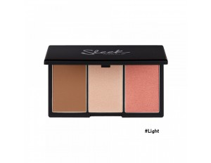 Sleek MakeUp Face Form Contouring & Blush Palette #2 Light