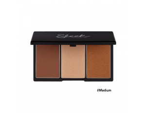 Sleek MakeUp Face Form Contouring & Blush Palette #3 Medium