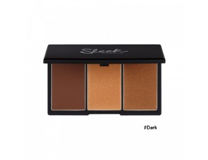 Sleek MakeUp Face Form Contouring & Blush Palette #4 Dark