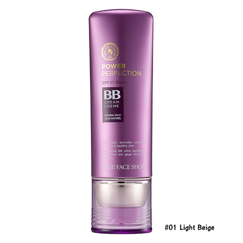 TheFaceShop Face It Power Perfection BB Cream SPF37 PA++ 40g. #01 Light Beige