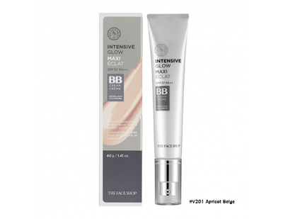 TheFaceShop Intensive Glow BB Cream SPF37 PA++ #V201 Apricot Beige