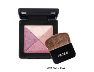 TheFaceShop Lesson 04 Artist Cube Blusher #02 Satin Pink