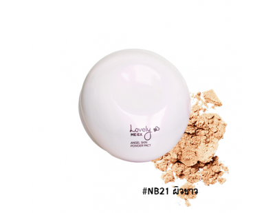 TheFaceShop Lovely ME : EX Angel Skin Powder Pact #NB21 ผิวขาว