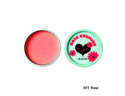 TheFaceShop Lovely ME : EX Pastel Cushion Blusher #01 Rose