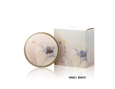 TheFaceShop Myeonghan Miindo Lin Two-Way Cake Pact SPF35 PA+++ #NB21 ผิวขาว