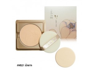 TheFaceShop Myeonghan Miindo Lin Two-Way Cake Pact SPF35 PA+++ (Refill) #NB21 ผิวขาว
