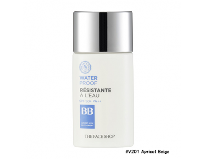 TheFaceShop Water Proof BB Cream SPF50+ PA+++ #V201 Apricot Beige