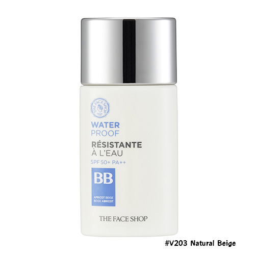 TheFaceShop Water Proof BB Cream SPF50+ PA+++ #V203 Natural Beige