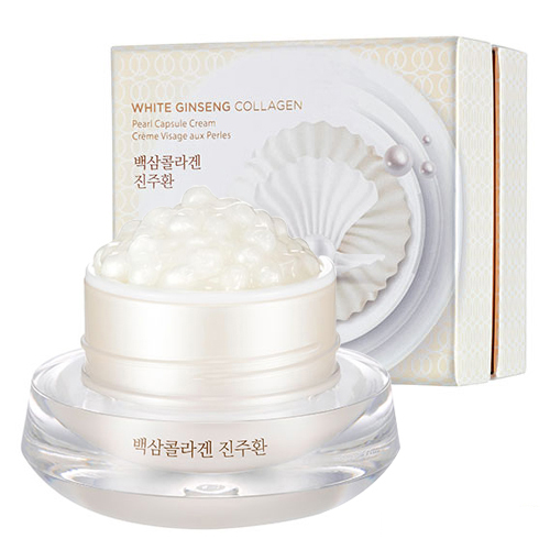 Thefaceshop White Ginseng Collagen Pearl Capsule Cream